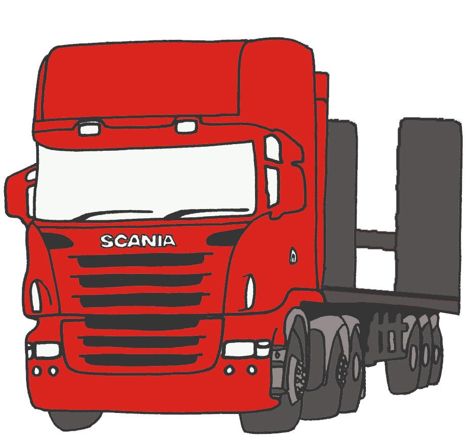 משאית אדומה - [IMG]