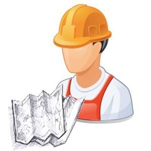 אדם עם כובע בטיחות ושרטוט - [IMG]